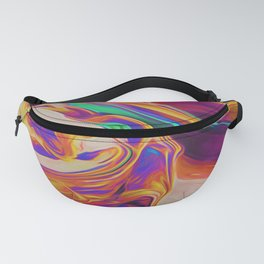 UP IN FLAMES Fanny Pack