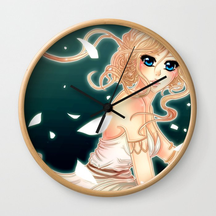 Greek Godess Wall Clock