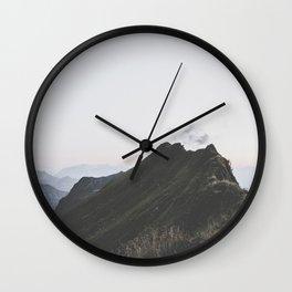 path - Landscape Photography Wall Clock