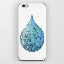 OCEAN DROP iPhone Skin