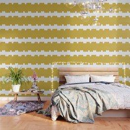Honeycomb White Wallpaper