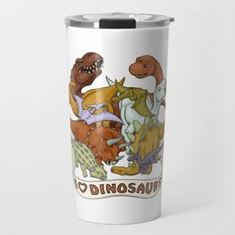 I Heart Dinosaurs Travel Mug