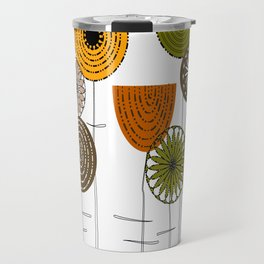 Autumn Blooms Travel Mug