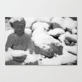 Buddha in Himalaya Canvas Print