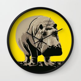 Visit the Zoo Wall Clock