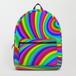 Rainbow Hypnosis Backpack