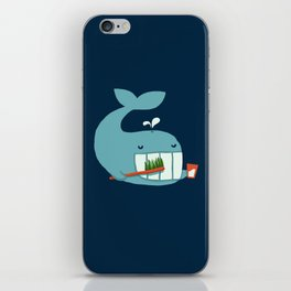 Brush Your Teeth iPhone Skin