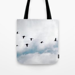 """Flock"" by Murray Bolesta Tote Bag"