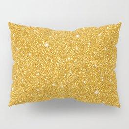 Gold glitter Pillow Sham