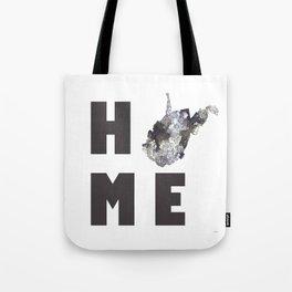 "West Virginia ""HOME"" Tote Bag"