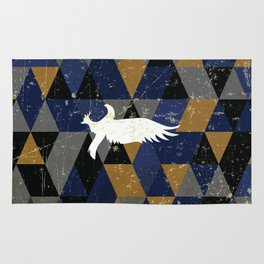 Ravenclaw House Pattern Rug