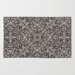 Luxury Modern Baroque Pattern Rug