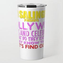Hollywoo Stars and Celebrities Travel Mug