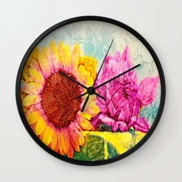 Girlfriends of Summer Wall Clock