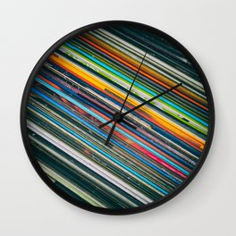 For The Love of Vinyl Wall Clock