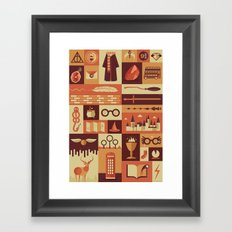 Accio Items Framed Art Print