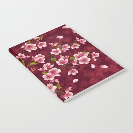 Cherry blossom #12 Notebook