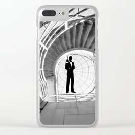 James aBONDened Clear iPhone Case