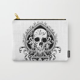 Halloween Ace of Spades Carry-All Pouch