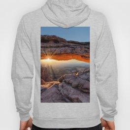 Mesa Arch Sunburst  by Lena Owens Hoody