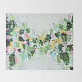 Southern Julep Throw Blanket