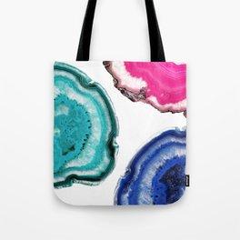 Tris of Agate Tote Bag