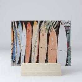 lets surf ii Mini Art Print
