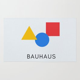 Bauhaus - Geometric Art Rug