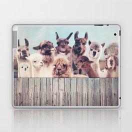 ALPACA ALPACA ALPACA & NEVER STOP EXPLORING - HAPPY FAMILY - Laptop & iPad Skin