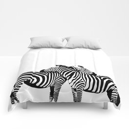 Two Color Love Comforters