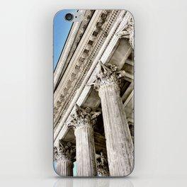 Roman Temple Corinthian Columns Nimes Provence France iPhone Skin