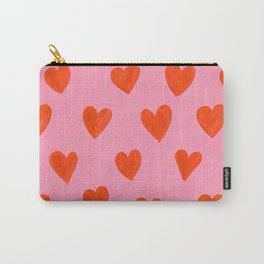 Love Hearts Carry-All Pouch