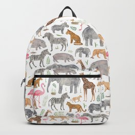Safari Animals Backpack