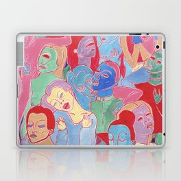 Alien Party Hard Laptop & iPad Skin