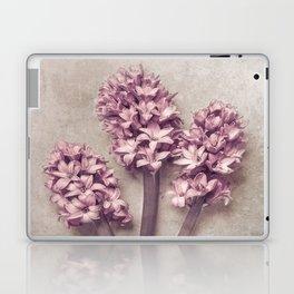 Lovely pink Hyacinths Laptop & iPad Skin