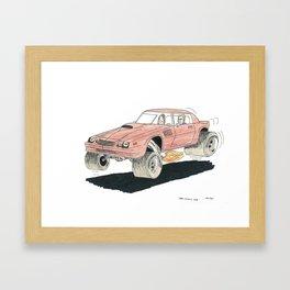 1980 Camaro Z-28 Framed Art Print