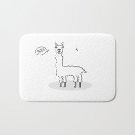 Bah Llama Bath Mat