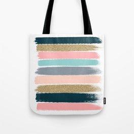 Zara - Brushstroke glitter trendy girly art print and phone case for young trendy girls Tote Bag