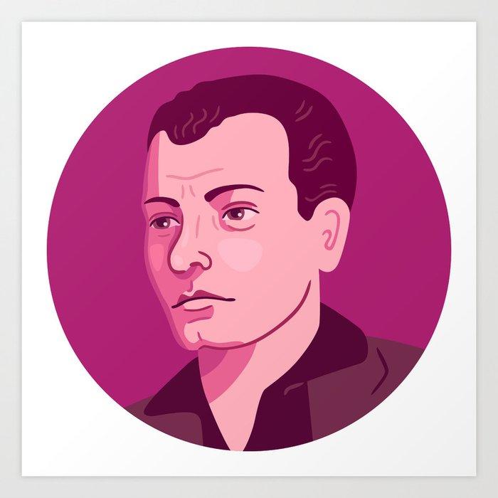 Queer Portrait - Harry Hay Art Print