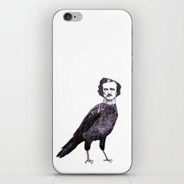 Edgar Allan Crow iPhone Skin