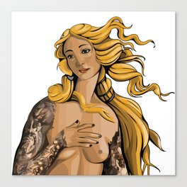 Venus Rebirth Canvas Print