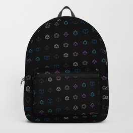 Dungeons and Dragons Aesthetic Dice Backpack