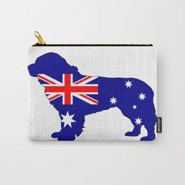 Australian Flag - Newfoundland Dog Carry-All Pouch