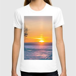 Winter sunset T-shirt
