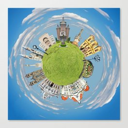 timisoara little planet Canvas Print