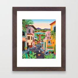 Mi Pueblito Framed Art Print