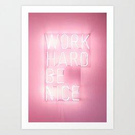 Neon Art Prints | Society6