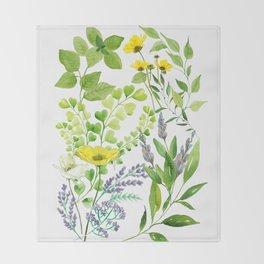 Springtime Throw Blanket