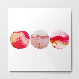 Wherever You Are horizontal circles Metal Print