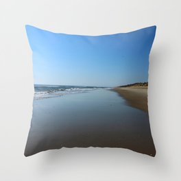 Longing For This Beach Throw Pillow